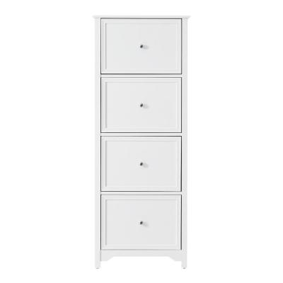 Bradstone 4 Drawer White File Cabinet In 2021 Filing Cabinet Home Office Furniture Drawers