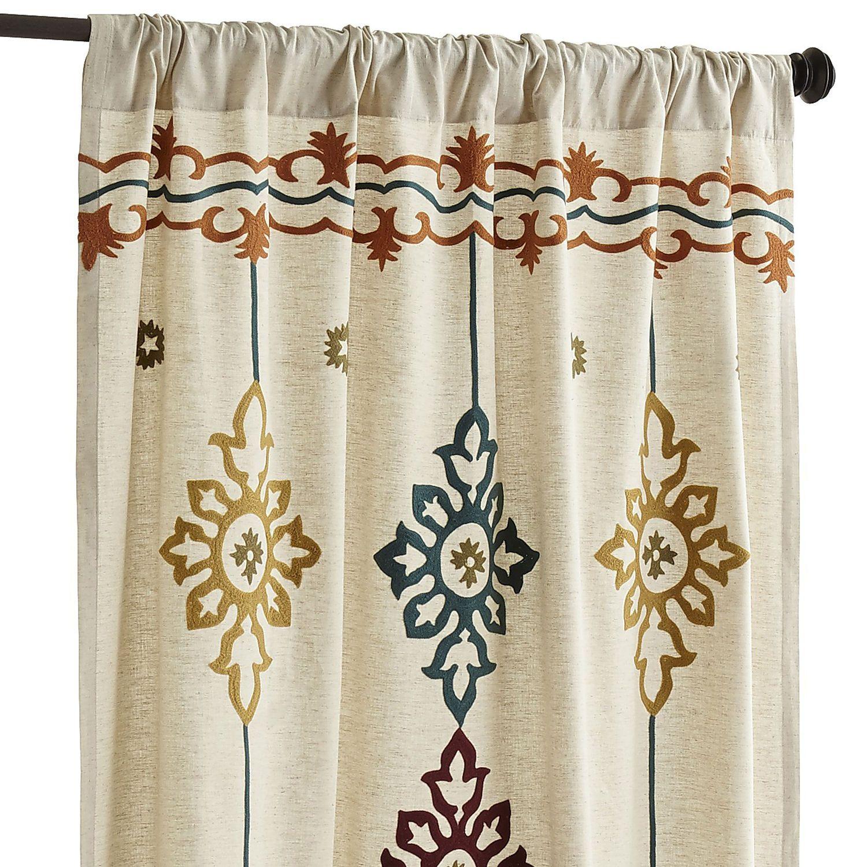 Riya Suzani Curtain Curtains Suzani Panel Curtains