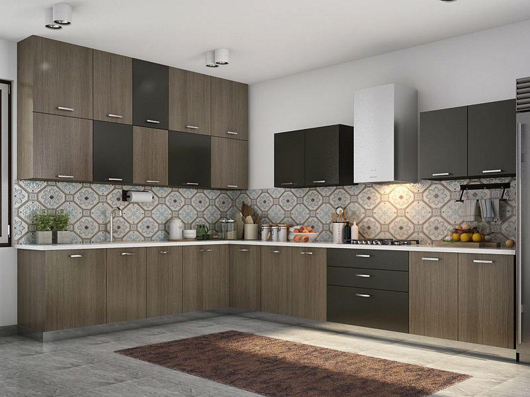 Modular kitchen cost estimator india with kitchen island ...