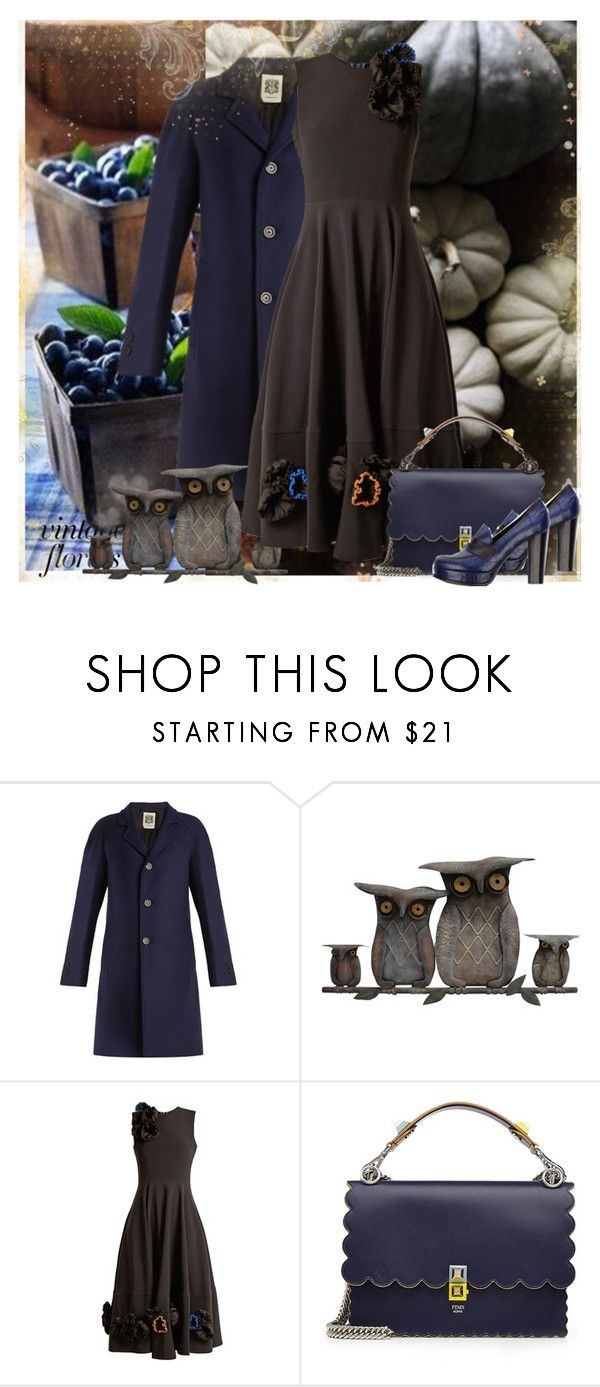 """""""10-05"""" by saponacsve ❤ liked on Polyvore featuring Connolly, WALL, Roksanda, Fendi and Studio Pollini"""