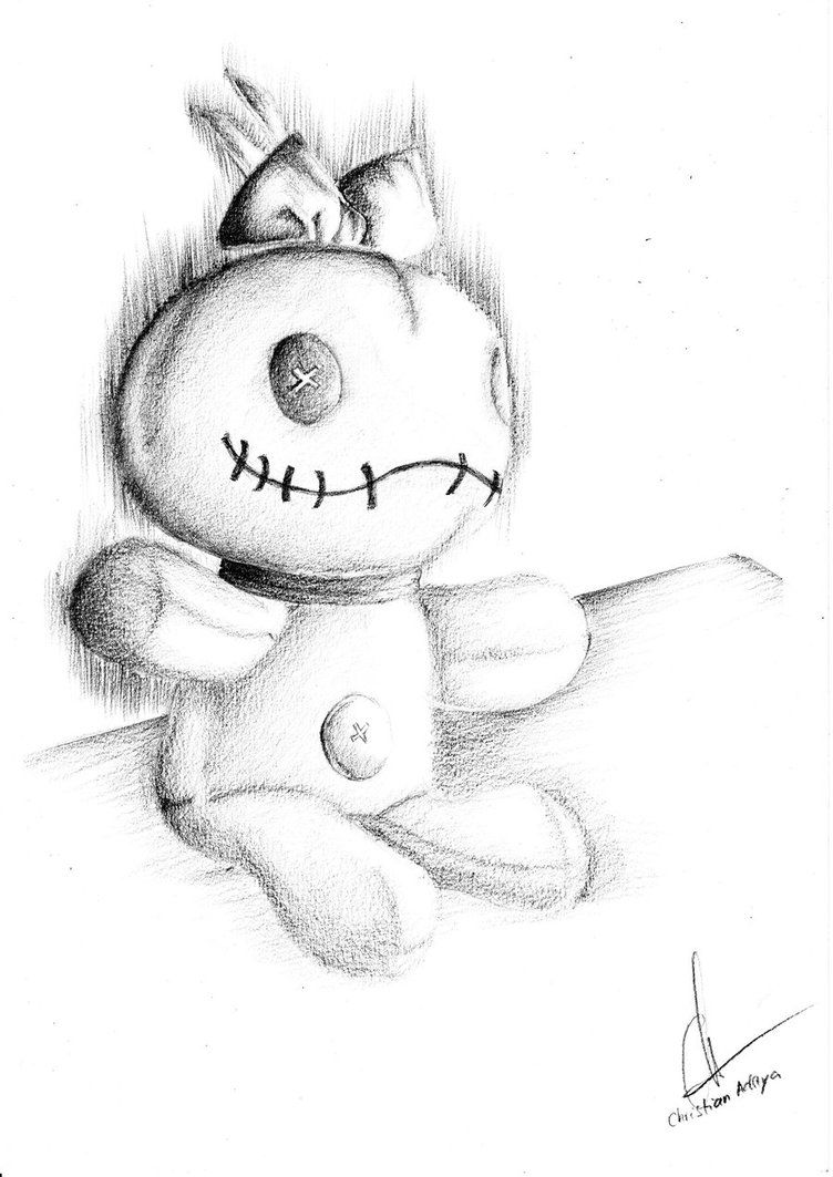 Scrump Doll - Lilo and Stitch by ~glimlag on deviantART | Tatoos ...