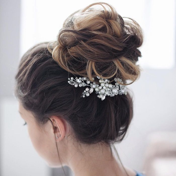 Wedding Party Hairstyles Beauteous 36 Messy Wedding Hair Updos For A Gorgeous Rustic Country Wedding To