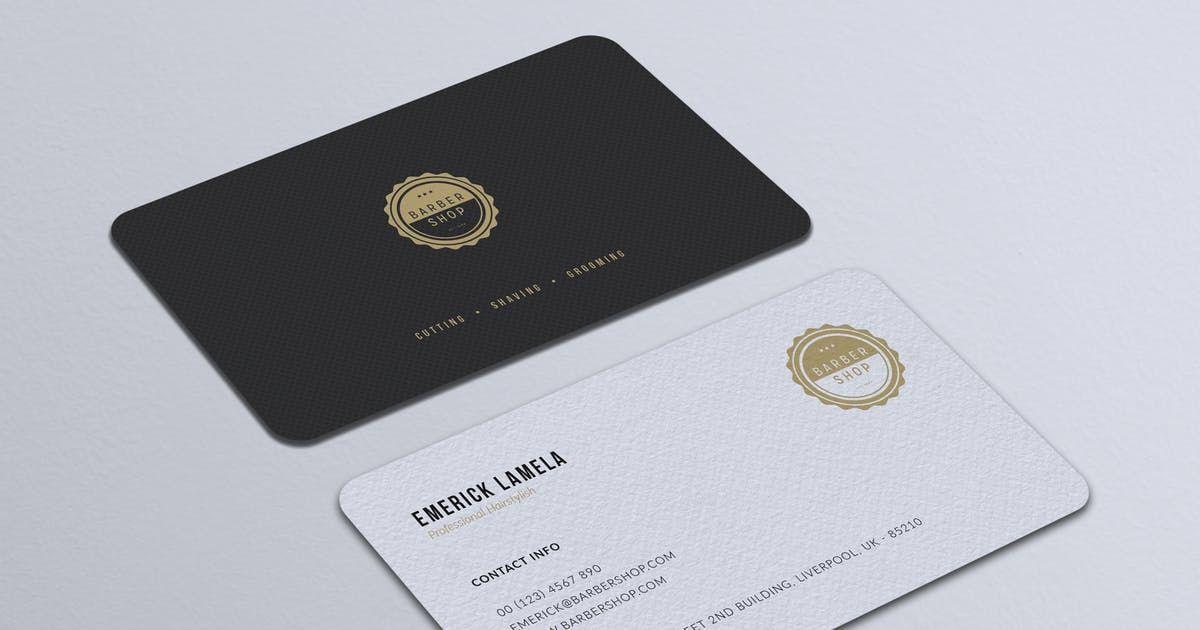 Minimalist Business Card Vol 30 By Rahardicreative On Envato Elements Minimalist Business Cards Business Cards Business Card Template