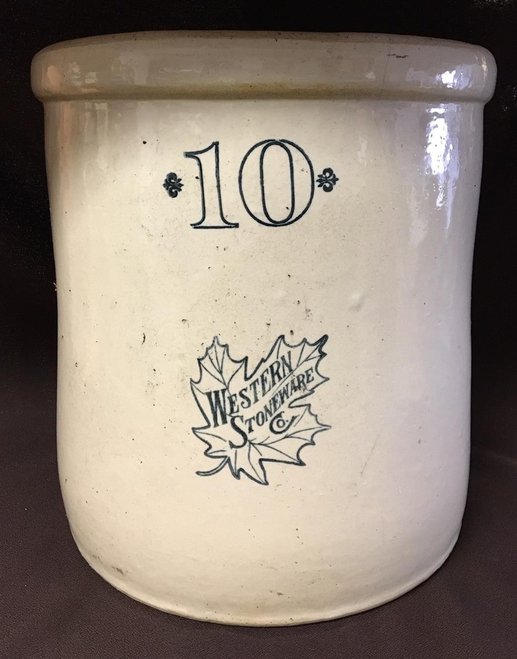 Www M37auction Com Huge Antique Crock 10 Gallon