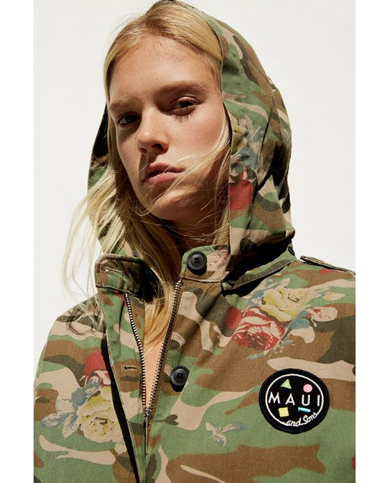 Camouflage Finds Hooded And Sons Jacket Maui ®Fashion n80kXwOP