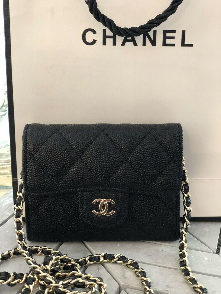d39b5cf2a384 Chanel Classic Clutch with Chain Black Caviar GHE | Fashion in 2019 ...