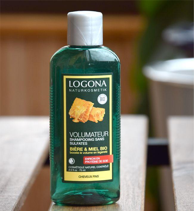 shampooing miel logona