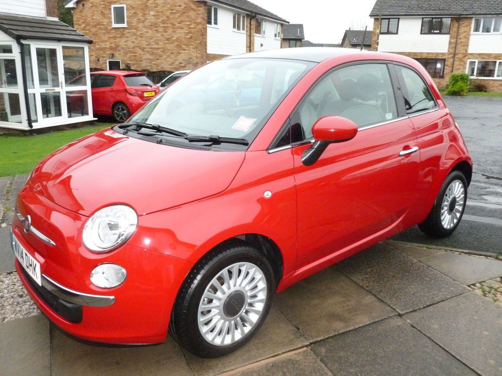 Private Sale Fiat 500 1 2 Lounge 2014 Pasodoble Red Start Stop