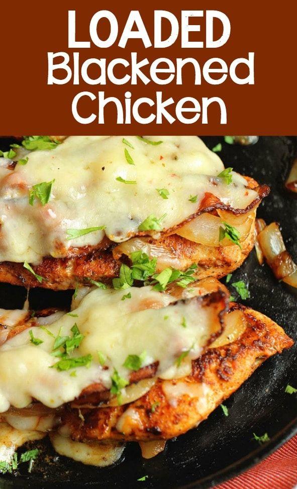 Loaded Blackened Chicken