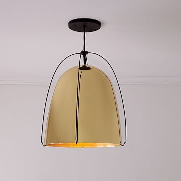 Rejuvenation Haleigh Wire Dome Pendant 12 50 Height