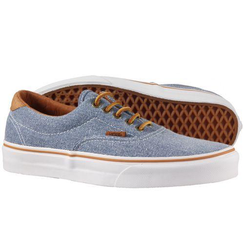Vans - Era 59 Shoes (Washed Twill) Blue  681a4a01d3d0