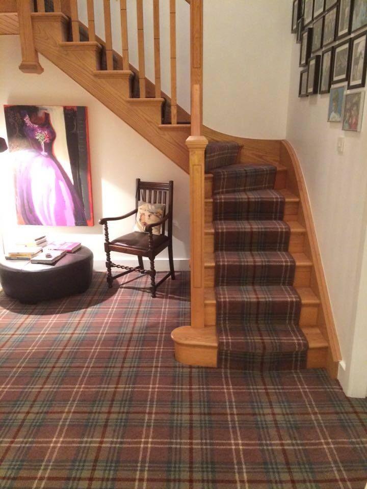 Best Choose A Carpet Carpet Stairs Tartan Stair Carpet 640 x 480