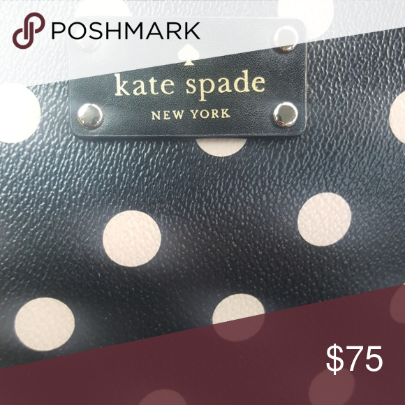 83d367e15b6 ... Classy crossbody spacious adjustable strap Black with blush pink polka  dots mix and match with your popular wardrobe favorites daily kate spade  Bags ...