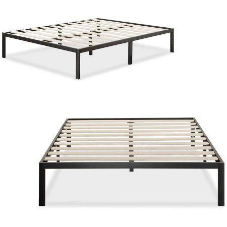 Home Queen Platform Bed Frame Metal Platform Bed