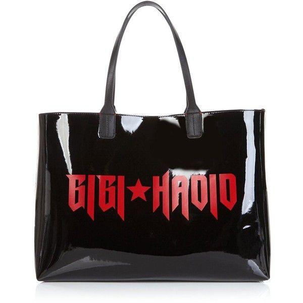 3e7430cf640b4 Sac À Mains · Tommy X Gigi Gigi Hadid Logo Patent Tote Bag (€135) ❤ liked on