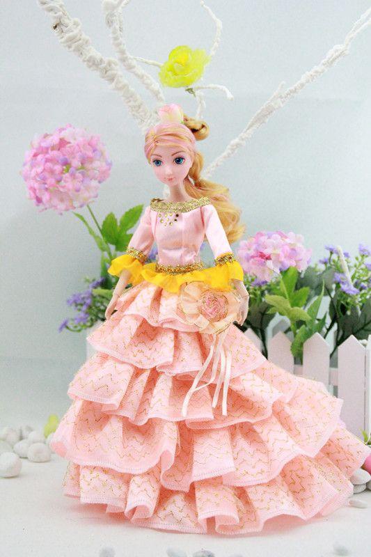 11.5 pulgadas de plástico de moda muñeca de la muchacha para la venta