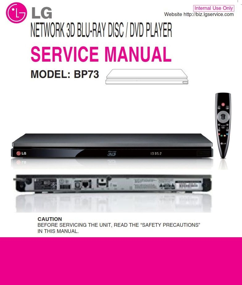 Lg Bp730 3d Blu Ray Player Service Manual And Repair Guide Repair Guide Blu Ray Player Blu Ray