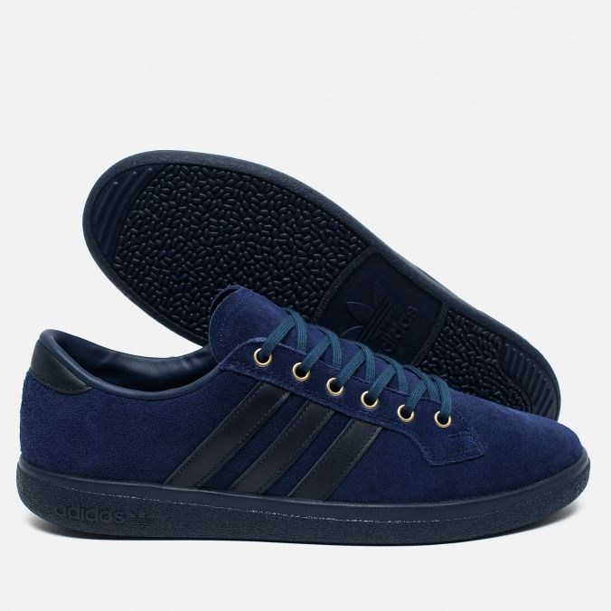 adidas Originals Bulhill Spezial Dark Blue/Night Indigo. Article: BB0766. Year: 2016. Made in Vietnam.