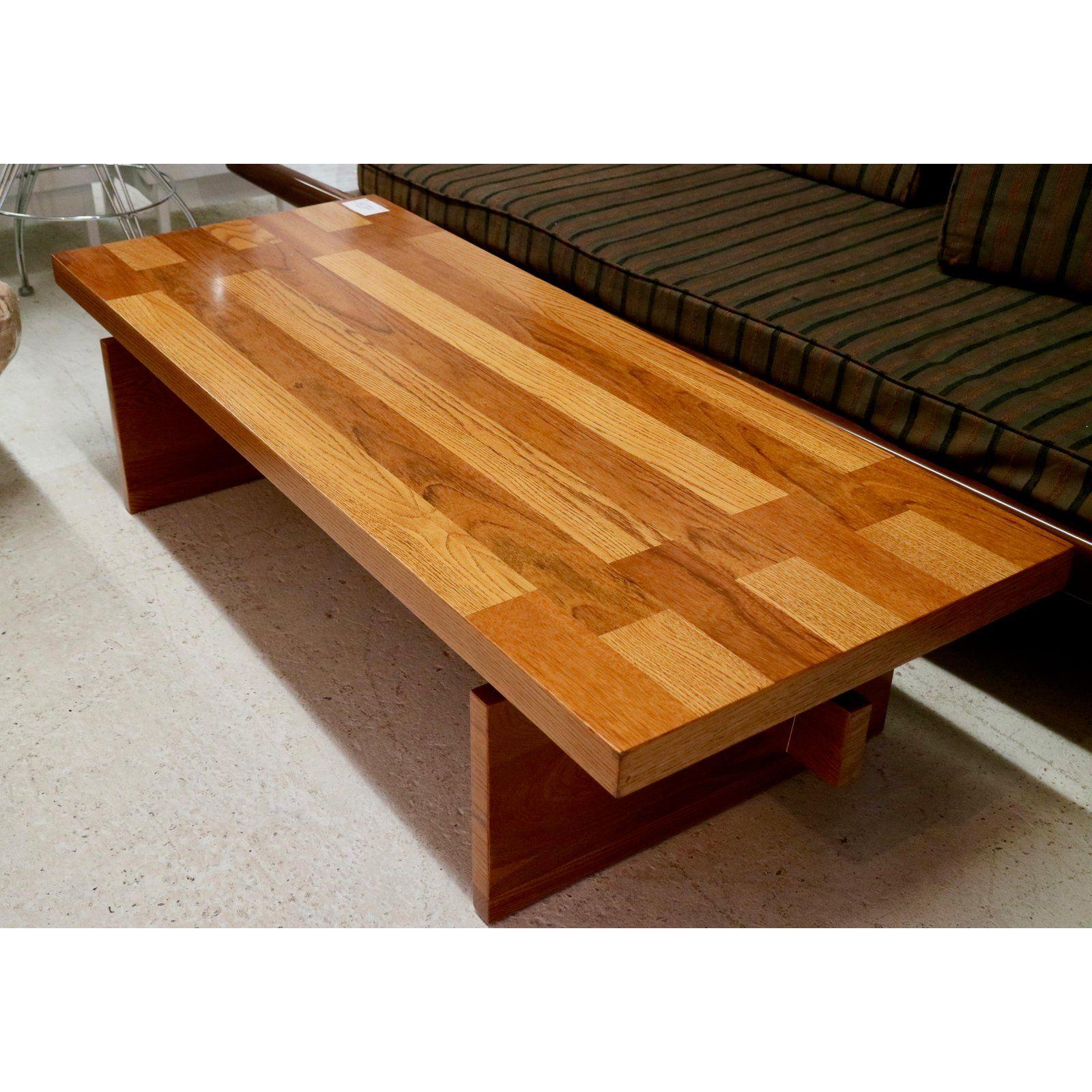 Mid century oak coffee table oak coffee table coffee