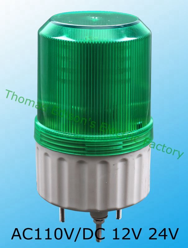 Lte 1081 Ac 220v 110v Dc 12v 24v Led Rotating Industrial Warning Light Buzzer Sound Red Yellow Blue Green S 80 Indicator Li Indicator Lights Warning Lights Led