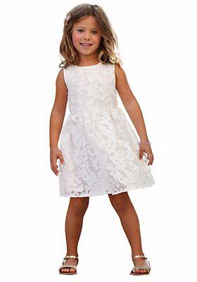 s.Oliver Junior Festliches Kleid mit schöner Spitze, für ...