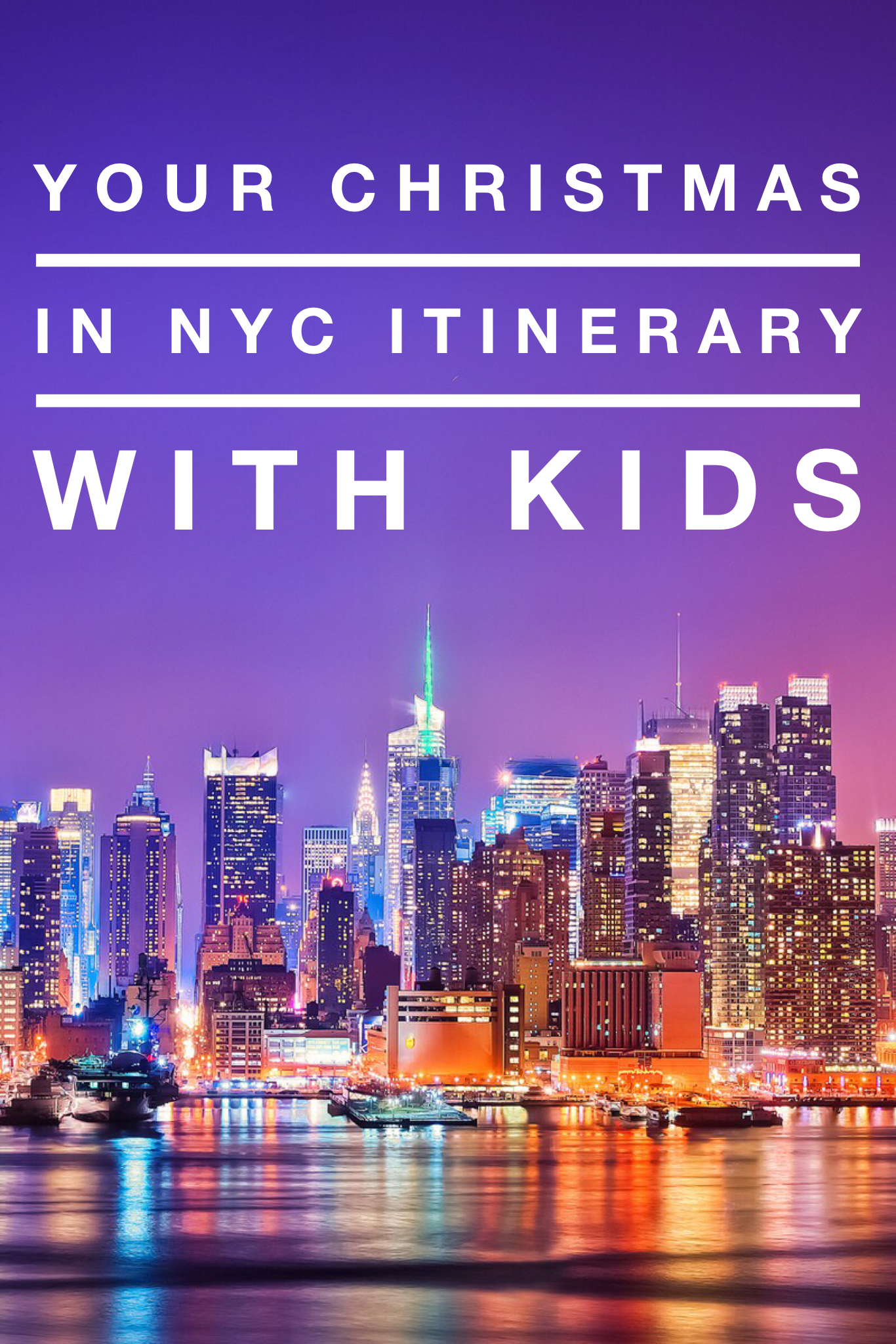 Two Day NYC itinerary with kids at Christmas | Nyc itinerary, New york city vacation, Nyc trip ...