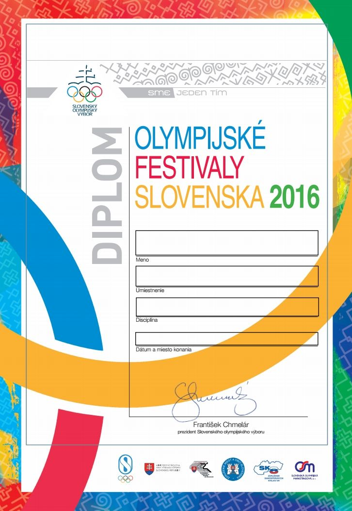 Na stiahnutie - Olympijské festivaly | Olympic.sk