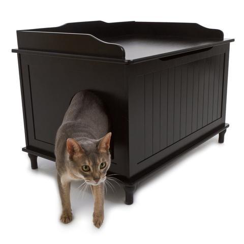 13++ Dual cat litter box furniture inspirations