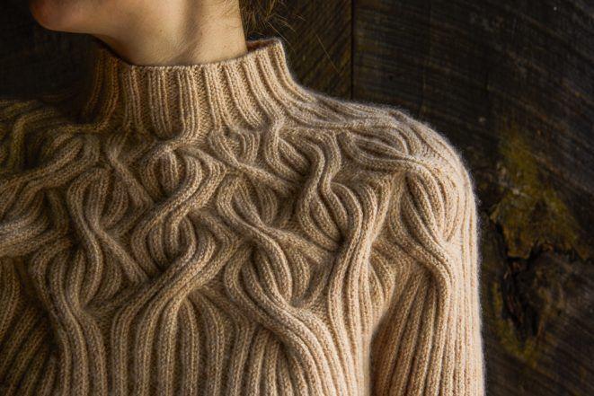 Botanical Yoke Pullover Knitting Knitting Designs
