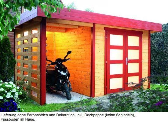 wolff finnhaus gartenhaus kombihaus kalle ma e 400 x 250 cm bohlen 28 mm allgemein haus. Black Bedroom Furniture Sets. Home Design Ideas
