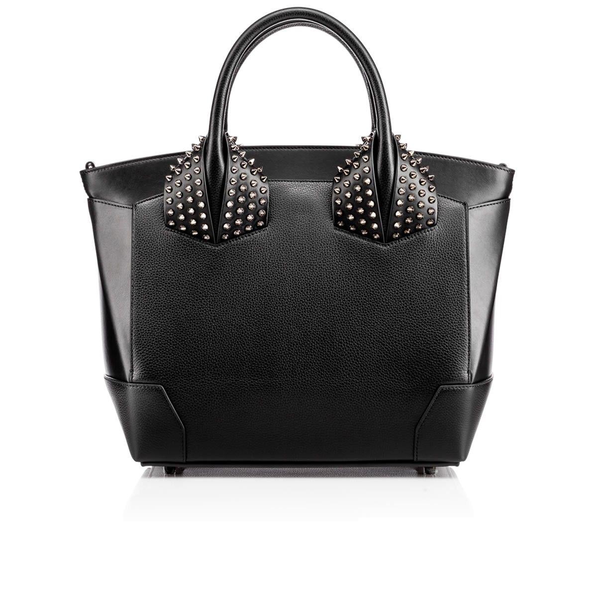 3a733e35cff CHRISTIAN LOUBOUTIN Eloise Large Two Handle Bag , Black, Calfskin ...