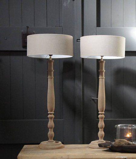 Oud hout eenvoudig en mooi verlichting pinterest for Design lamp hout