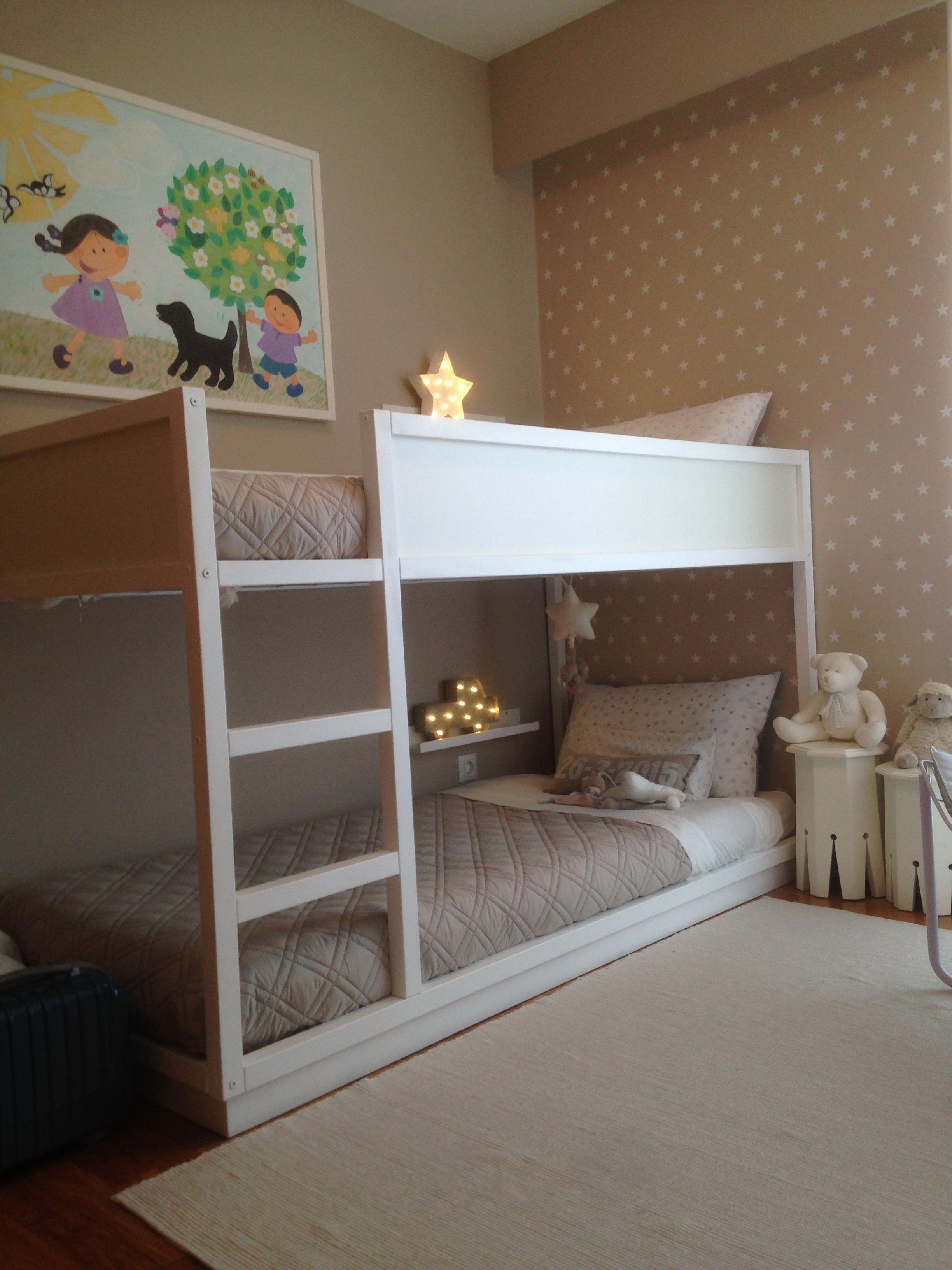 twin over queen bunk bed ikea