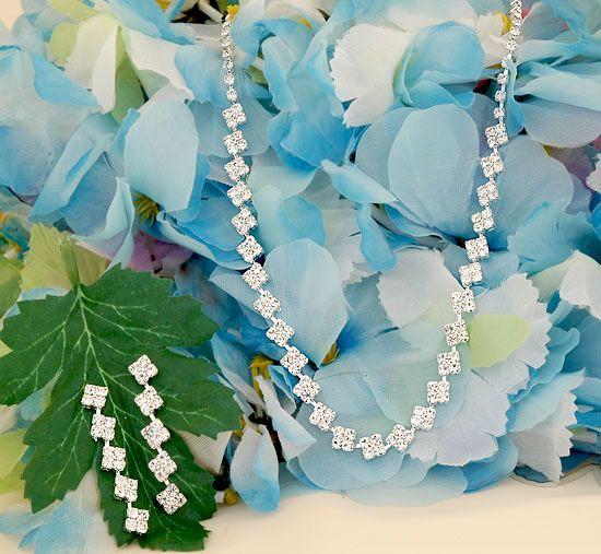 Bridesmaid jewelry set