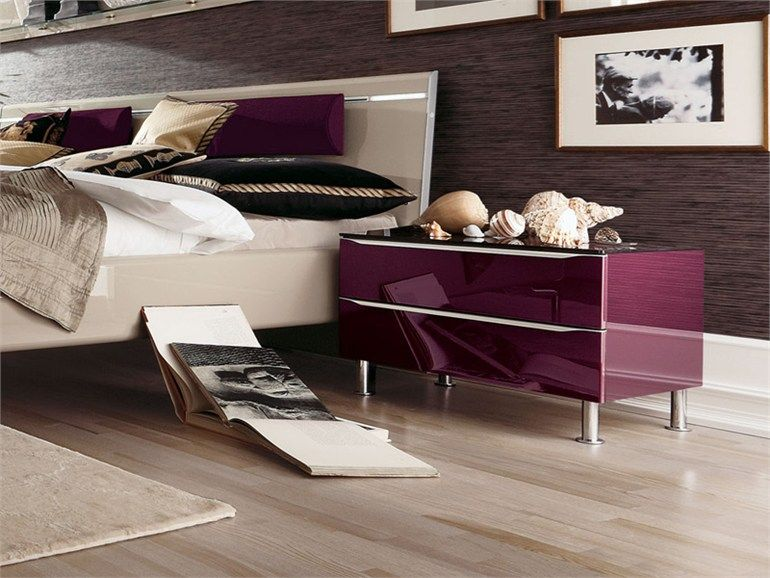 Lacquered Bedside Table Metisplus Collection By Hulsta Werke Huls
