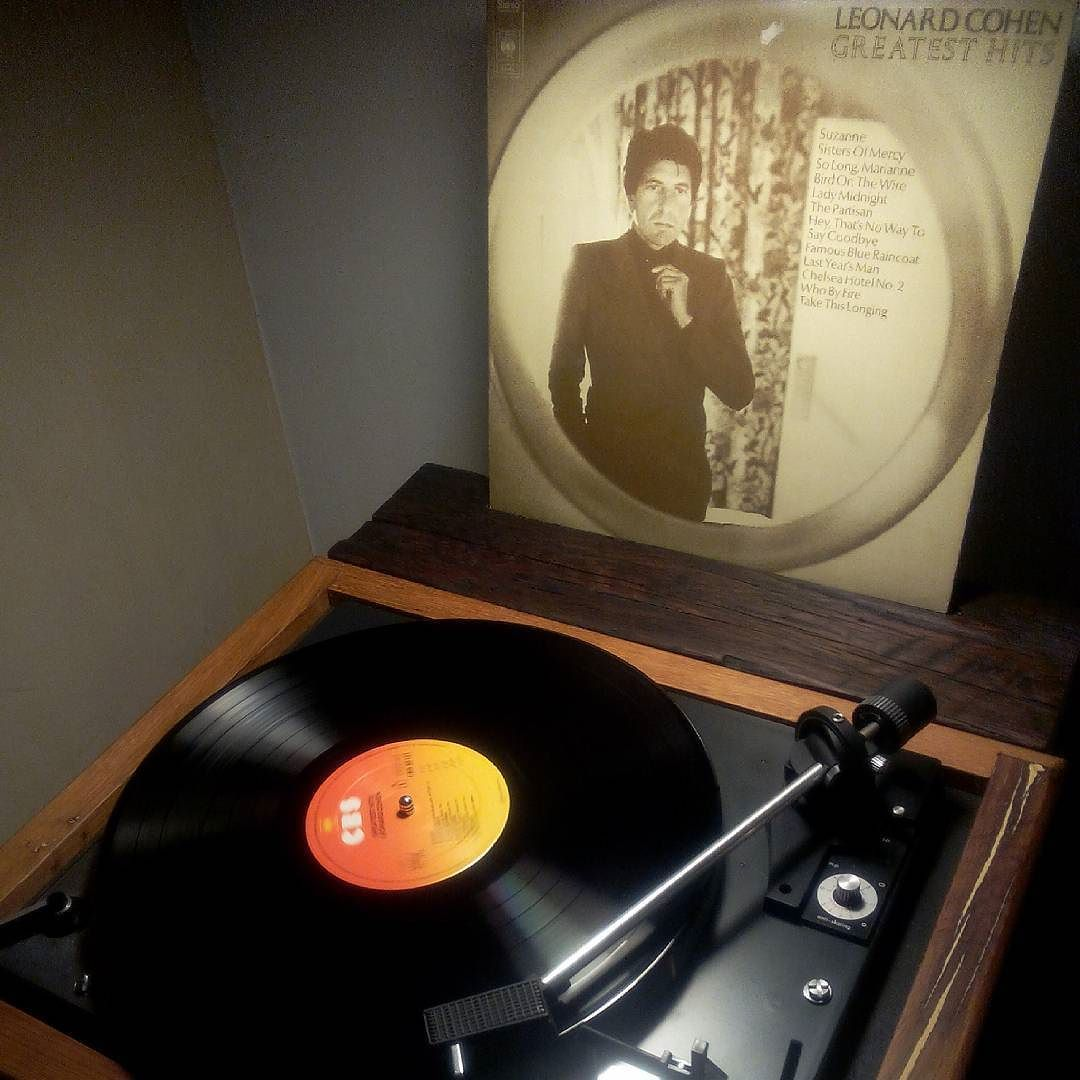 Action Platenspeler Greatest Hits Leonard Cohen Leonardcohen Greatesthits