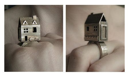 Doll House Ring - Stainless St...