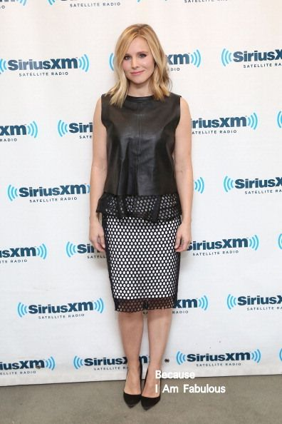 Fabulously Spotted: Kristen Bell Wearing Elizabeth and James - SiriusXM Studios  - http://www.becauseiamfabulous.com/2014/03/kristen-bell-wearing-elizabeth-and-james-siriusxm-studios/