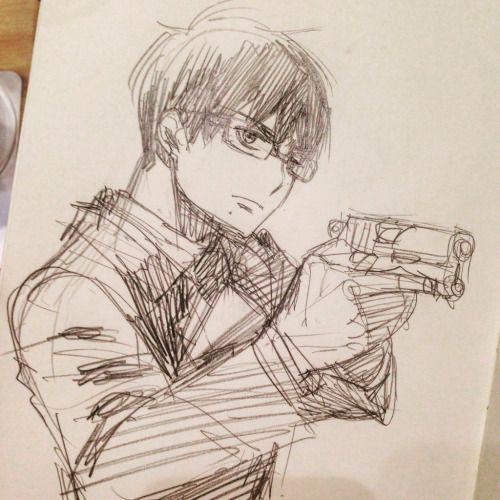 dessin manga blue exorcist