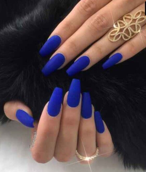 Im Not A Fan Of The Shape Or Length But In Love With Cobalt Blue