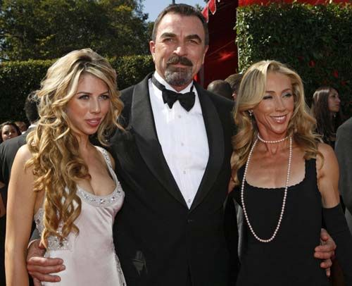 Tom selleck with his daughter tom selleck his wife for Hannah margaret mack selleck photo
