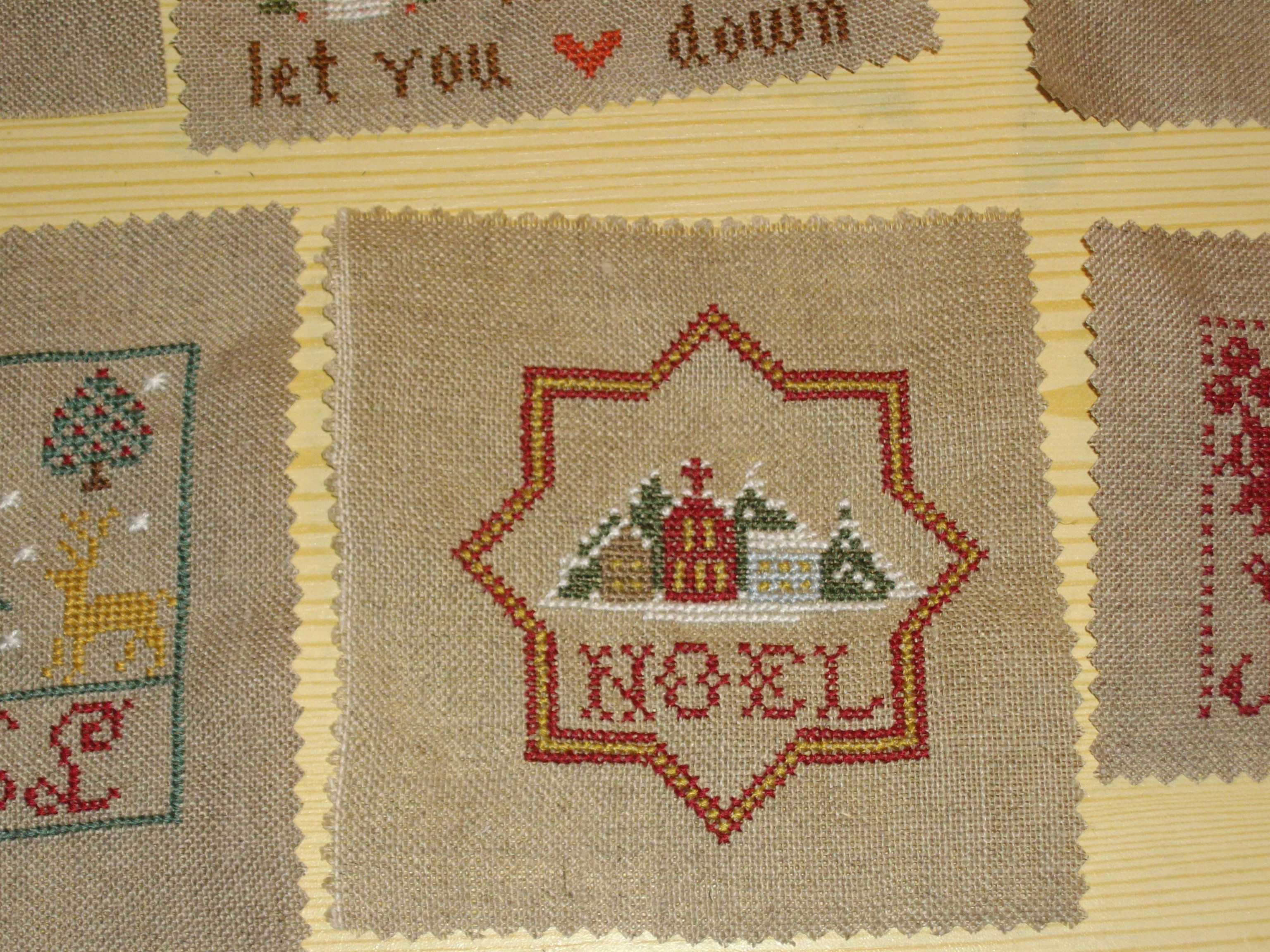 cross stitched for a card