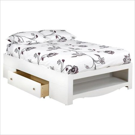 Home Full Bed With Storage Full Size Storage Bed Platform Bed With Storage