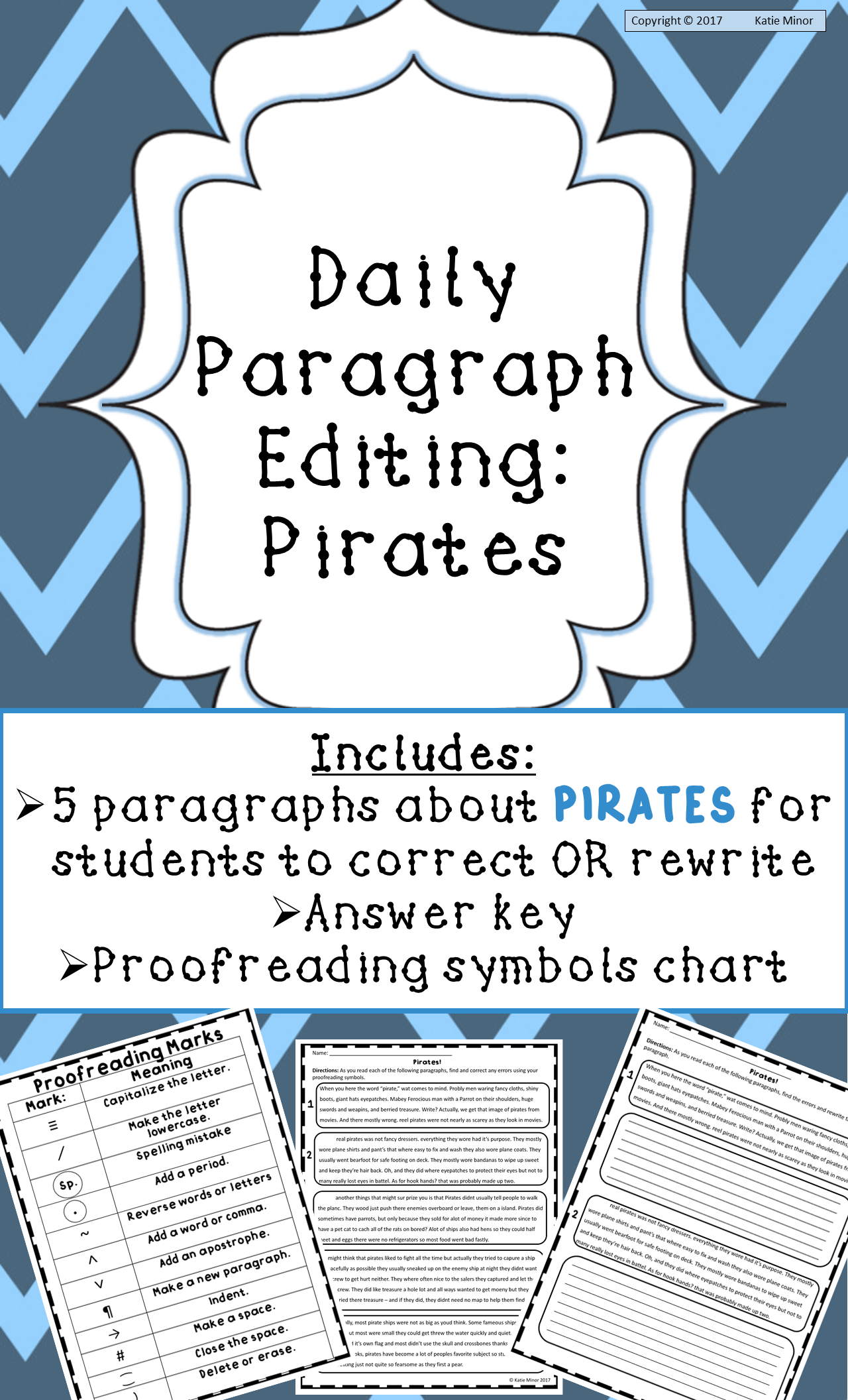 Engage your students in editing with these fun informational paragraphs  about pirates!   Editing practice [ 2112 x 1280 Pixel ]