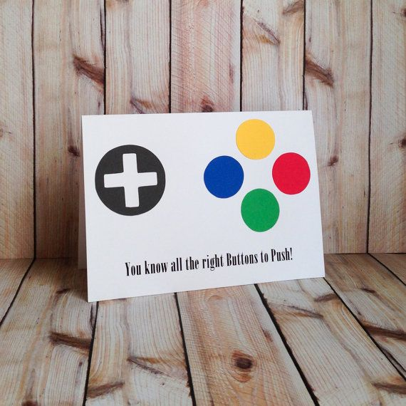 Gamer Video Game Push My Buttons By Artfulcreationsbydeb