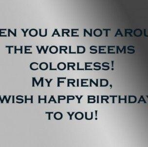 Birthday Wishes For Best Friend Male Birthday Wishes Boy