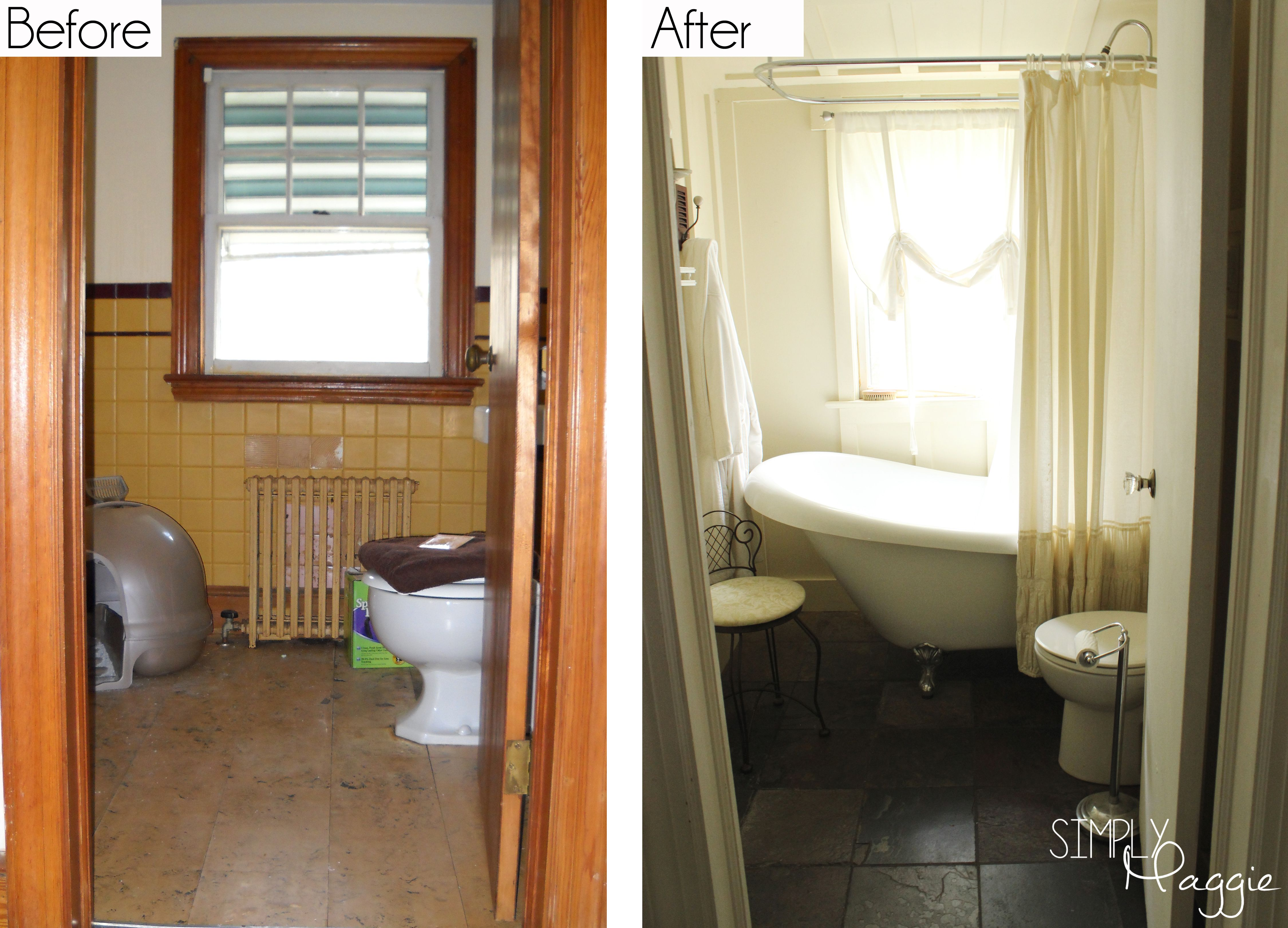 Image Gallery For Website Cottage Renovation Before and After Simply Maggie