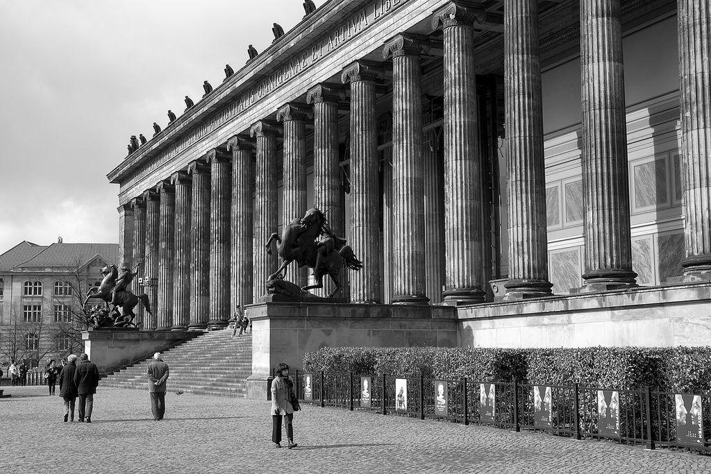 Altes Museum Classical Architecture Berlin Architecture Museum