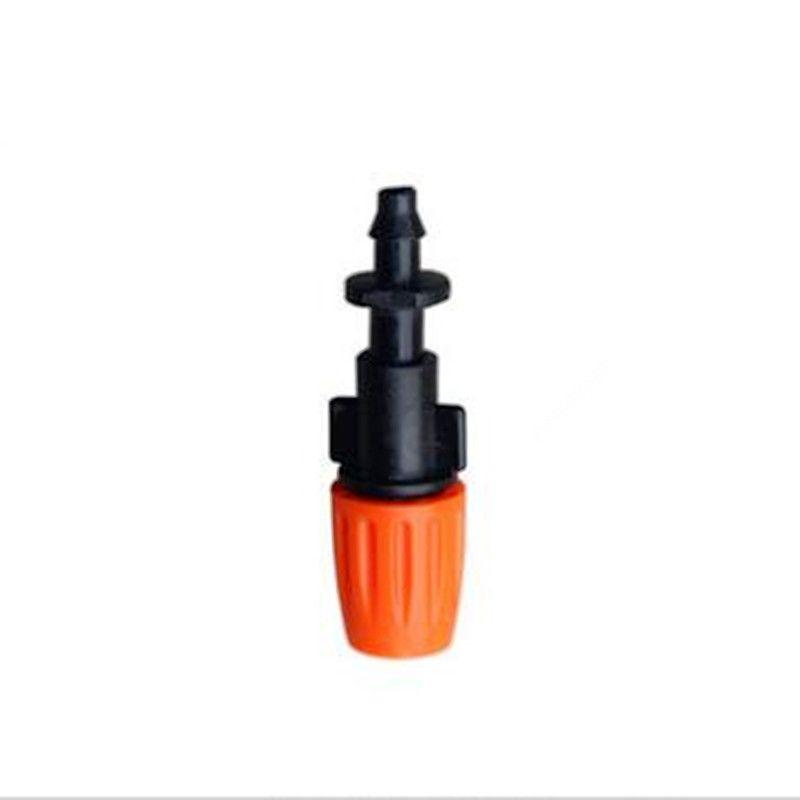 5pcs/pack Adjustable Mist Sprinkler With 1/4inch Barbed