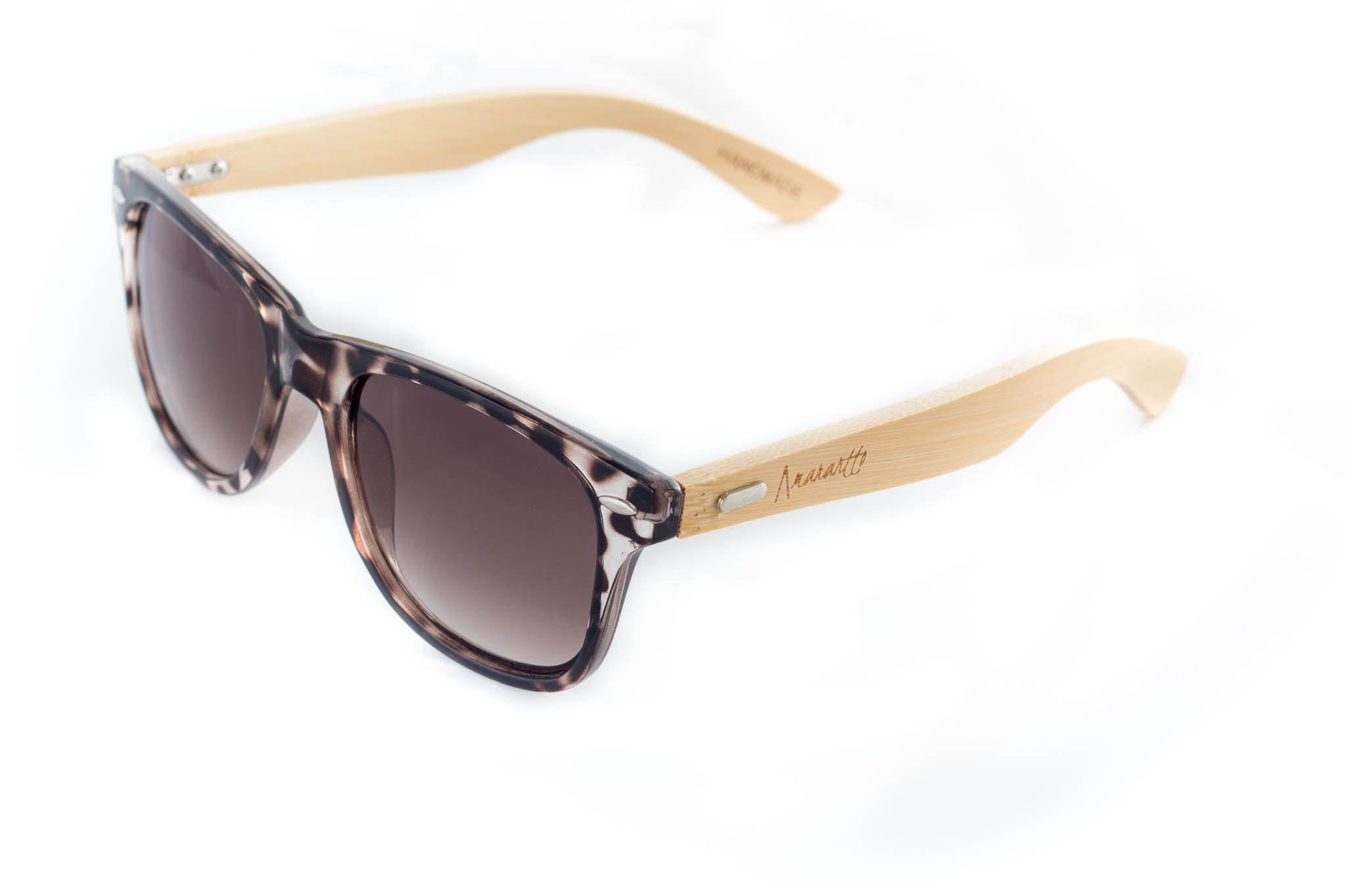Amarantto - Animal Print- Modelo Zeebra - Gafas de sol unisex, con ...